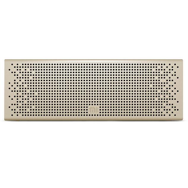 Акустическая стерео система беспроводная Mi Bluetooth Speaker золотая
