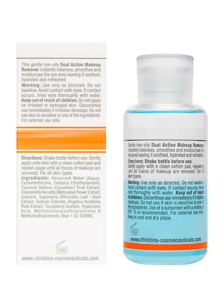 Forever Young Dual Action Make Up Remover