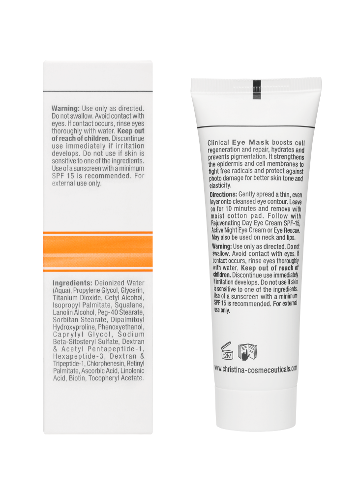 Forever Young Smooth Eyes Mask