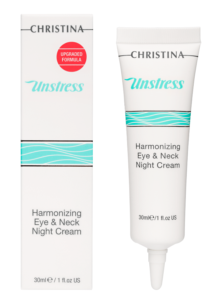 Unstress Harmonizing Eye & Neck Night Cream