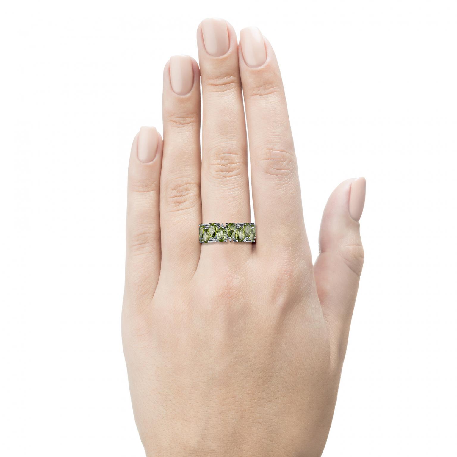 Кольцо из белого золота с и бриллиантом э0911к_1219355