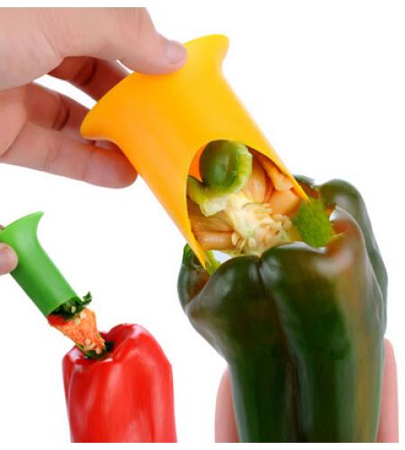 Чистилка для перцев нейлоновая Nylon Pepper Corer, 2шт