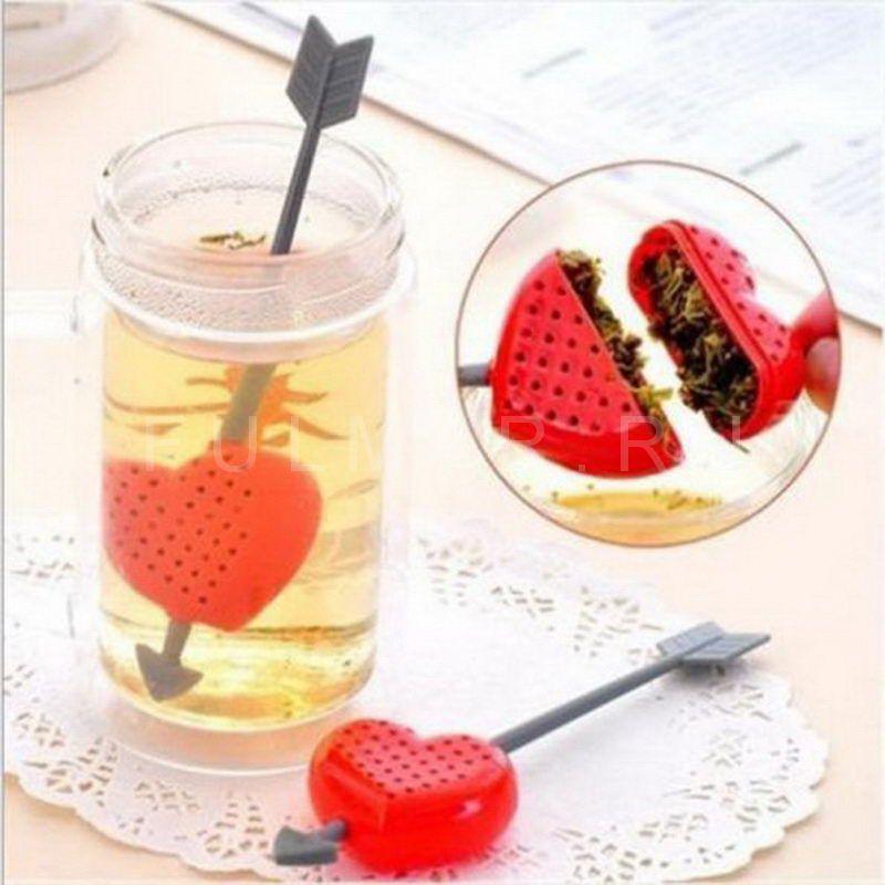 Чайное ситечко Сердечко Tea for the heart