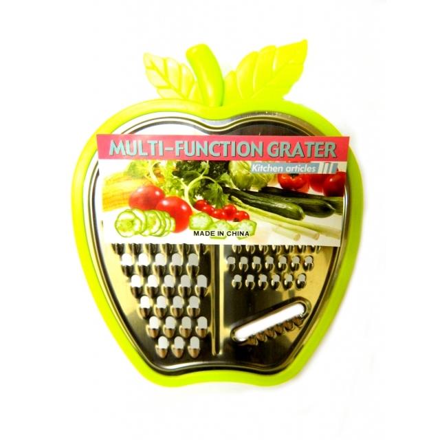Терка с лотком в форме яблока