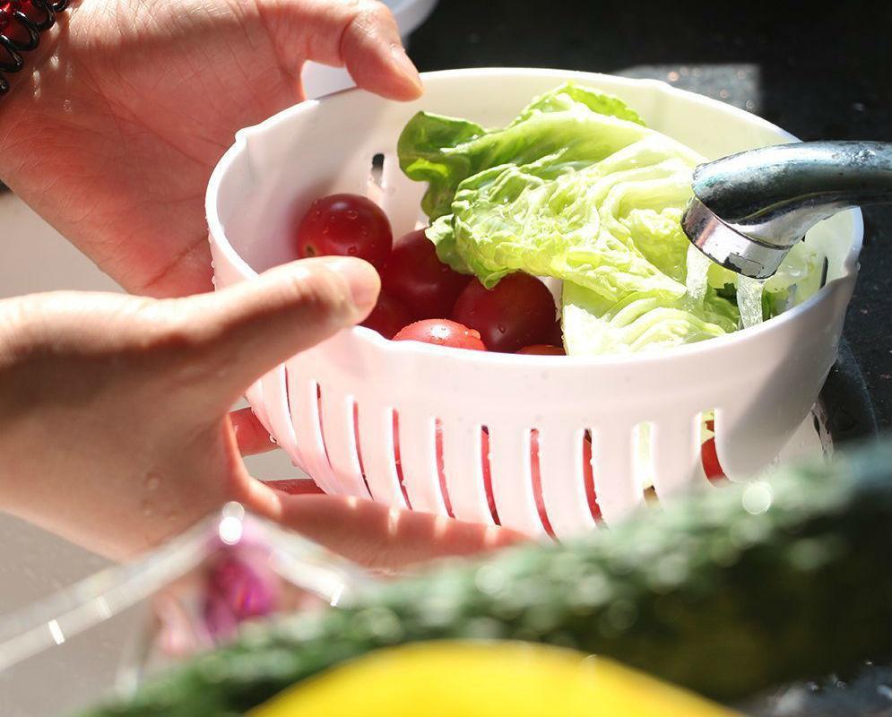 Овощерезка миска Salad Cutter Bowl