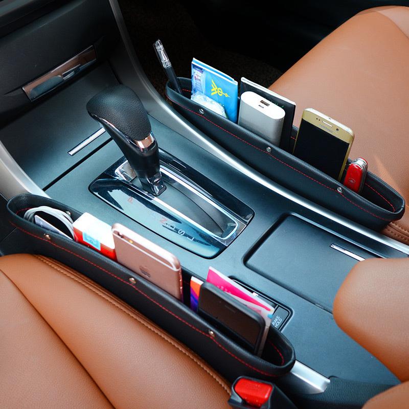 Автомобильный карман-органайзер Коричневый