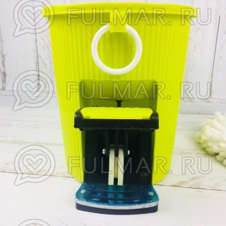 Швабра и ведро с отжимом Spin Mop 7,5 литров Цвет Салатовый