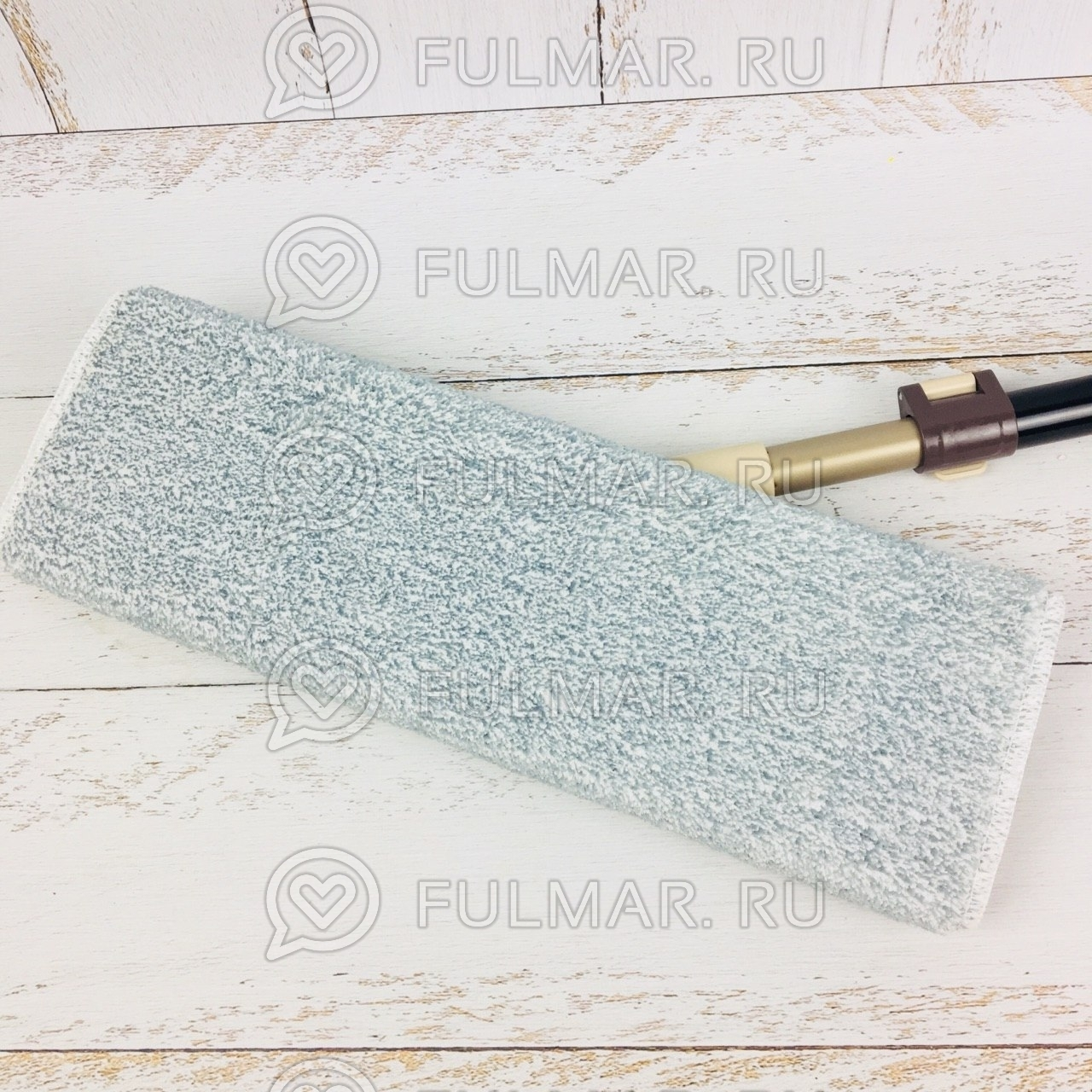 Сменная насадка для швабры Boomjoy Dry Wet Flat Mop Серая