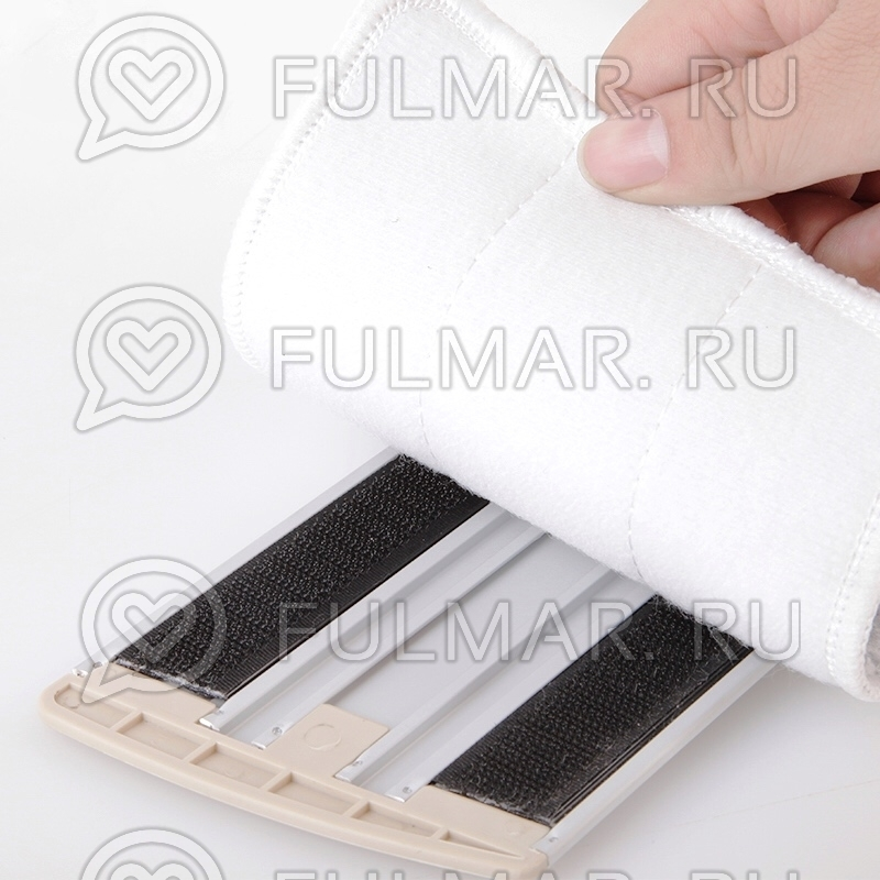 Сменная насадка на плоскую швабру для мытья пола Boomjoy E600