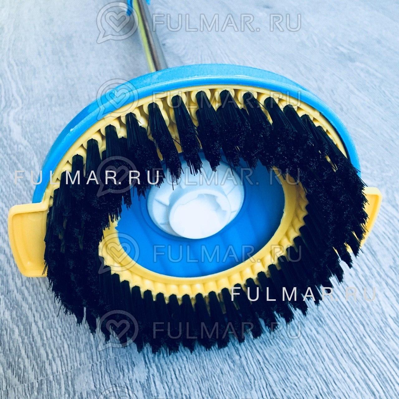 Насадка для швабры с отжимом Spin Mop для плитки
