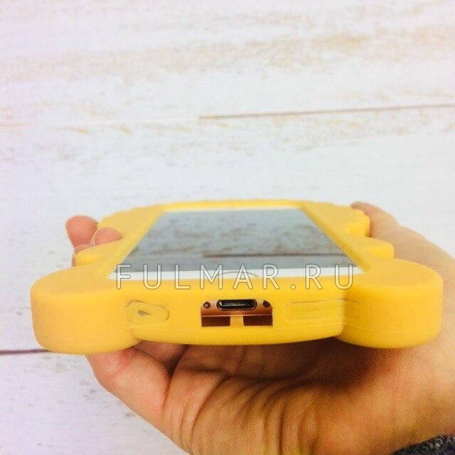 Чехол для iphone 6/6S  силиконовый Лев