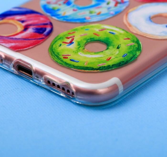 Чехол для телефона iPhone 6, 6S, 7 Donut