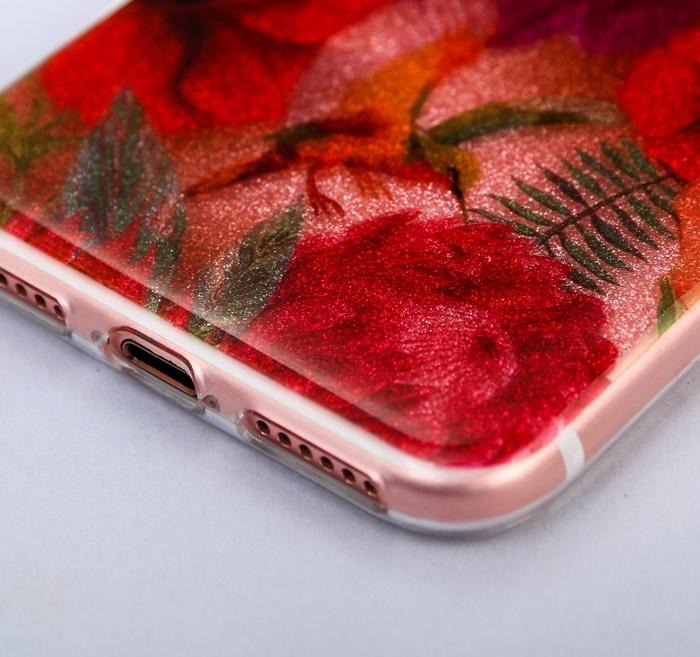 Чехол-накладка для телефона iPhone 6, 6S, 7 «Колибри»