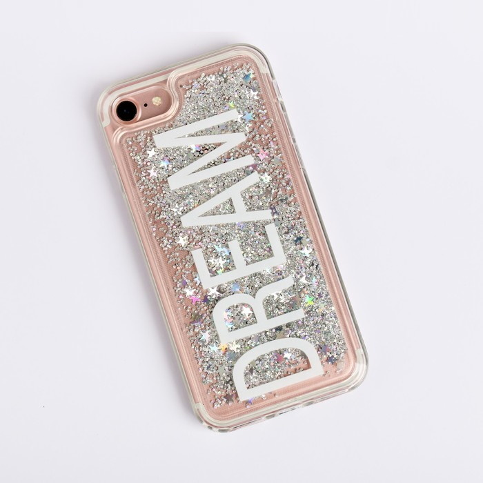 Чехол для телефона iPhone 7 с блёстками внутри Dream