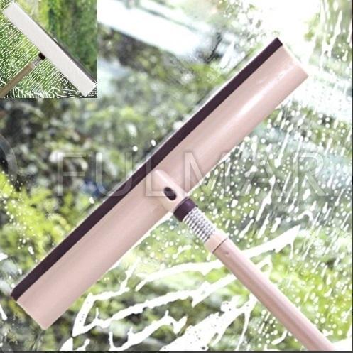 Гибкий стекломой с водосгоном и телескопической ручкой Boomjoy