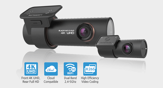 Видеорегистратор BlackVue DR900S-2CH, 2 камеры, GPS (+ Разветвитель в подарок!)