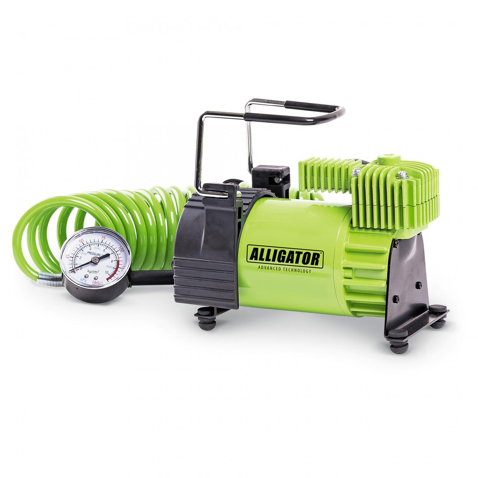 Компрессор автомобильный Аллигатор AL-400 (+ Мешки для колёс в подарок!)