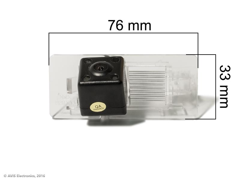 CMOS ИК штатная камера заднего вида AVEL Electronics AVS315CPR (#134) для AUDI A1/A4/A5/A7/Q3/Q5/TT/ SKODA SUPERB II/O..
