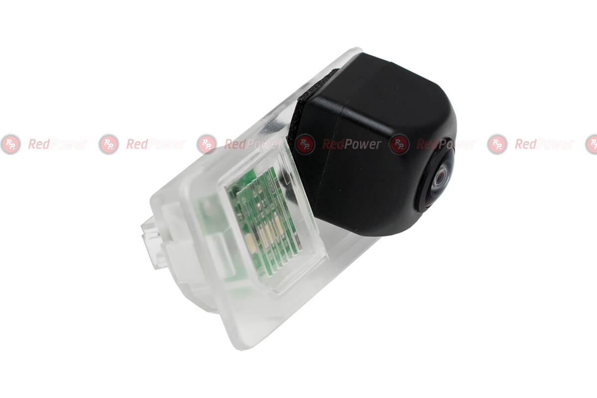 Штатная видеокамера парковки Redpower BMW379P Premium для BMW 1 coupe, 3, 5, X1, X3, X5, X6 (сохранение штатной подсве..