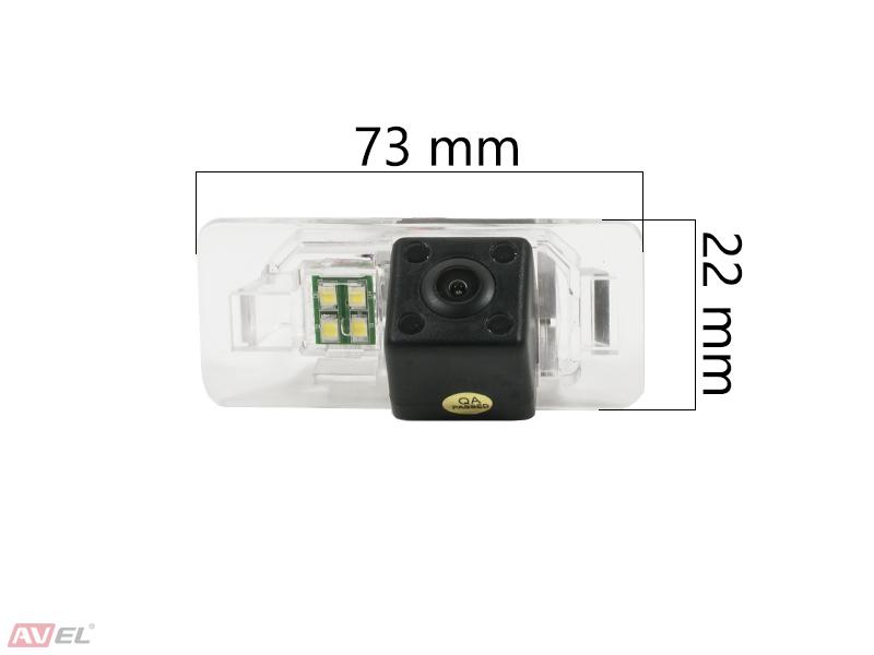 Штатная камера заднего вида Avel AVS315CPR (#007) для BMW 3/5