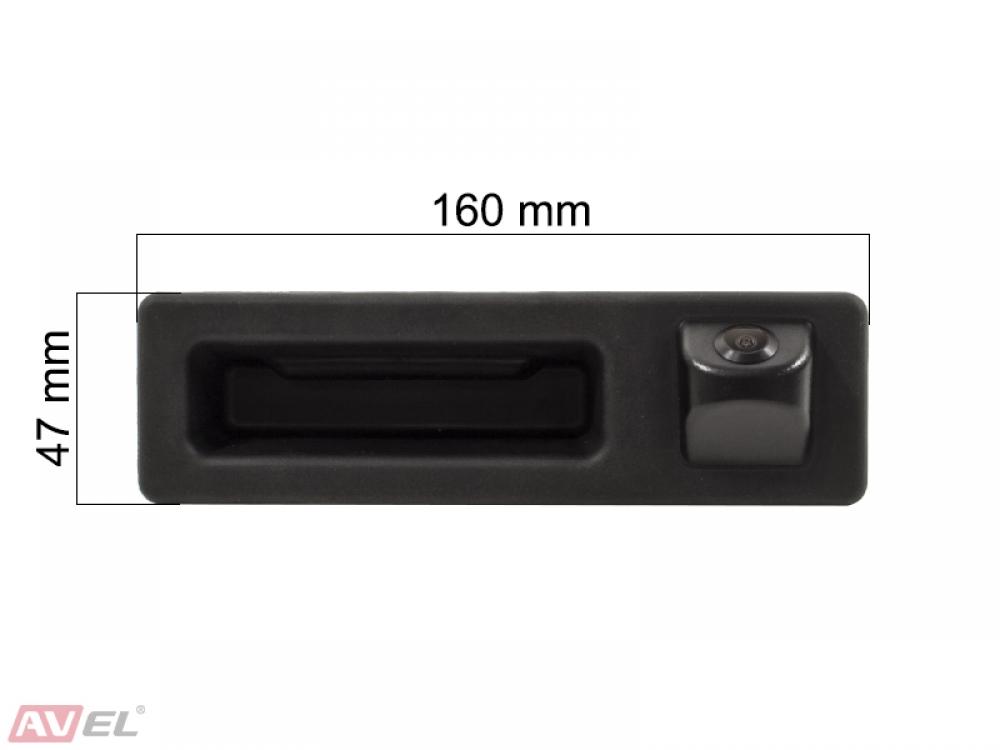 Штатная HD камера заднего вида AVS327CPR (#150) для автомобилей BMW