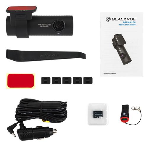 BlackVue DR750S-1CH (+ Антисептик-спрей для рук в подарок!)