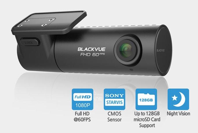 Видеорегистратор BlackVue DR590-1CH (+ Карта памяти microSD на 32 ГБ в подарок!)