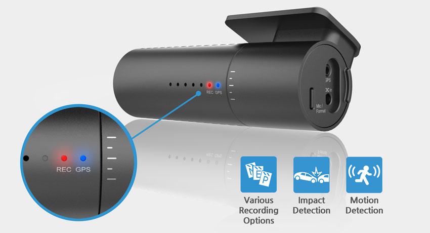 Видеорегистратор BlackVue DR590-1CH GPS (+ Карта памяти microSD на 32 ГБ в подарок!)
