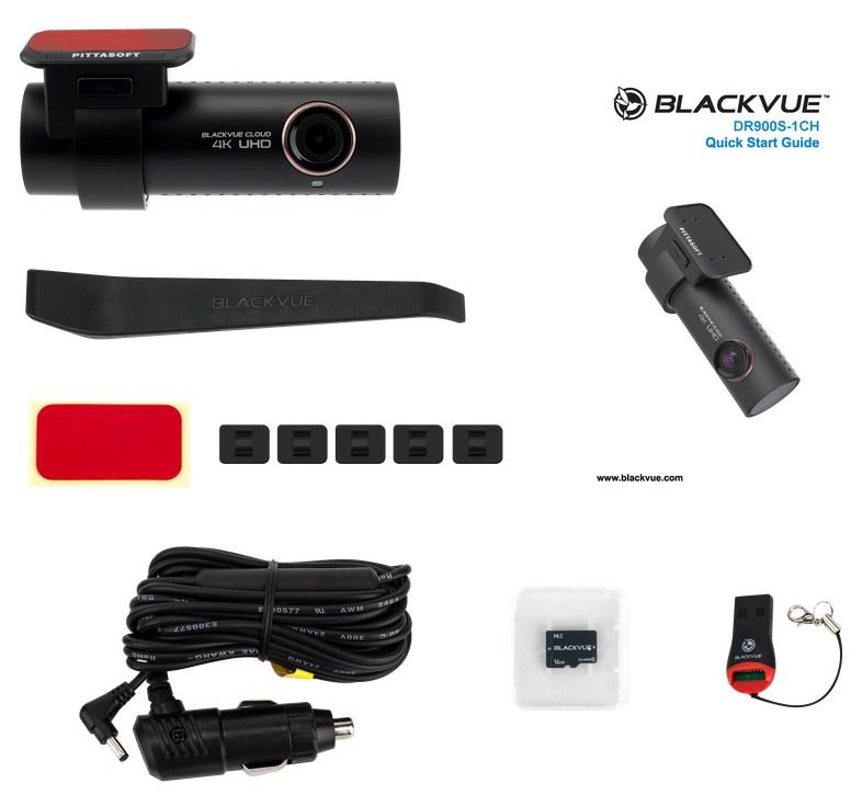 Видеорегистратор BlackVue DR900S-1CH (+ Разветвитель в подарок!)