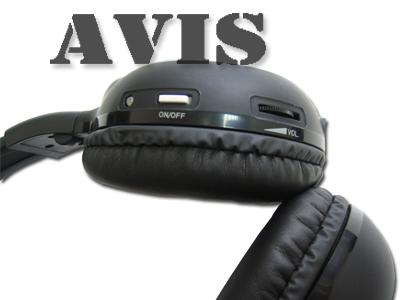 Беспроводные ИК наушники AVEL AVS004HP (одноканальные)