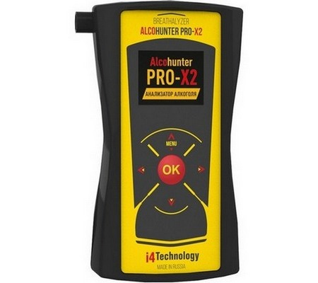 Алкотестер AlcoHunter Professional X2 (+ Антисептик-спрей для рук в подарок!)