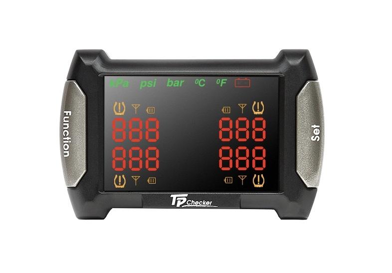 Система контроля давления и температуры в шинах Carax TPMS CRX-1010N (+ Антисептик-спрей для рук в подарок!)