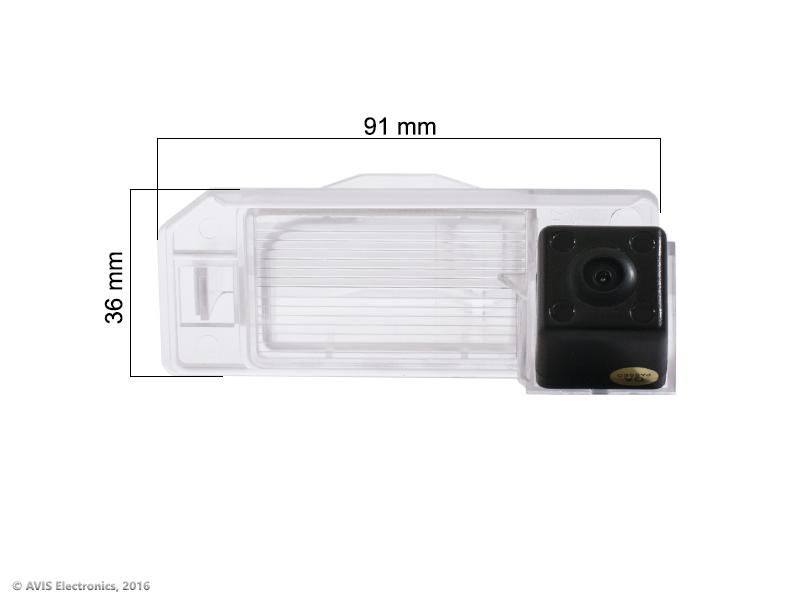 CMOS ИК штатная камера заднего вида AVEL Electronics AVS315CPR (#056) для CITROEN C4 AIRCROSS/ MITSUBISHI ASX/ PEUGEOT..