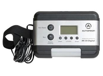 Компрессор автомобильный цифровой Autoprofi AK-35 Digital (+ Мешки для колёс в подарок!)