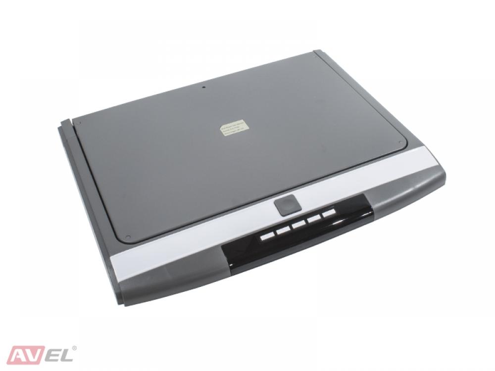 """Потолочный монитор 17,3"""" со встроенным Full HD медиаплеером AVS1717MPP (серый) (+ Антисептик-спрей для рук в подарок!)"""