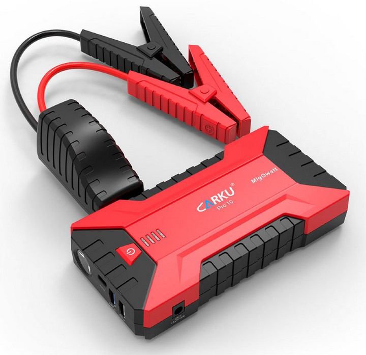Пуско-зарядное устройство CARKU PRO-10 (+ Антисептик-спрей для рук в подарок!)