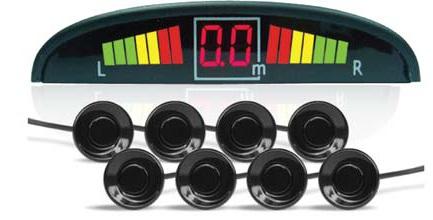 Парктроник AVS PS-128U (+ Антисептик-спрей для рук в подарок!)