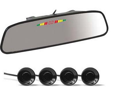 Парктроник AVS PS-164U в зеркале заднего вида (+ Антисептик-спрей для рук в подарок!)
