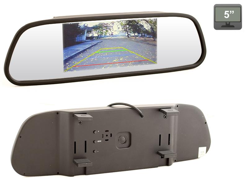 Автомобильный монитор AVEL AVS0501BM (+ Антисептик-спрей для рук в подарок!)
