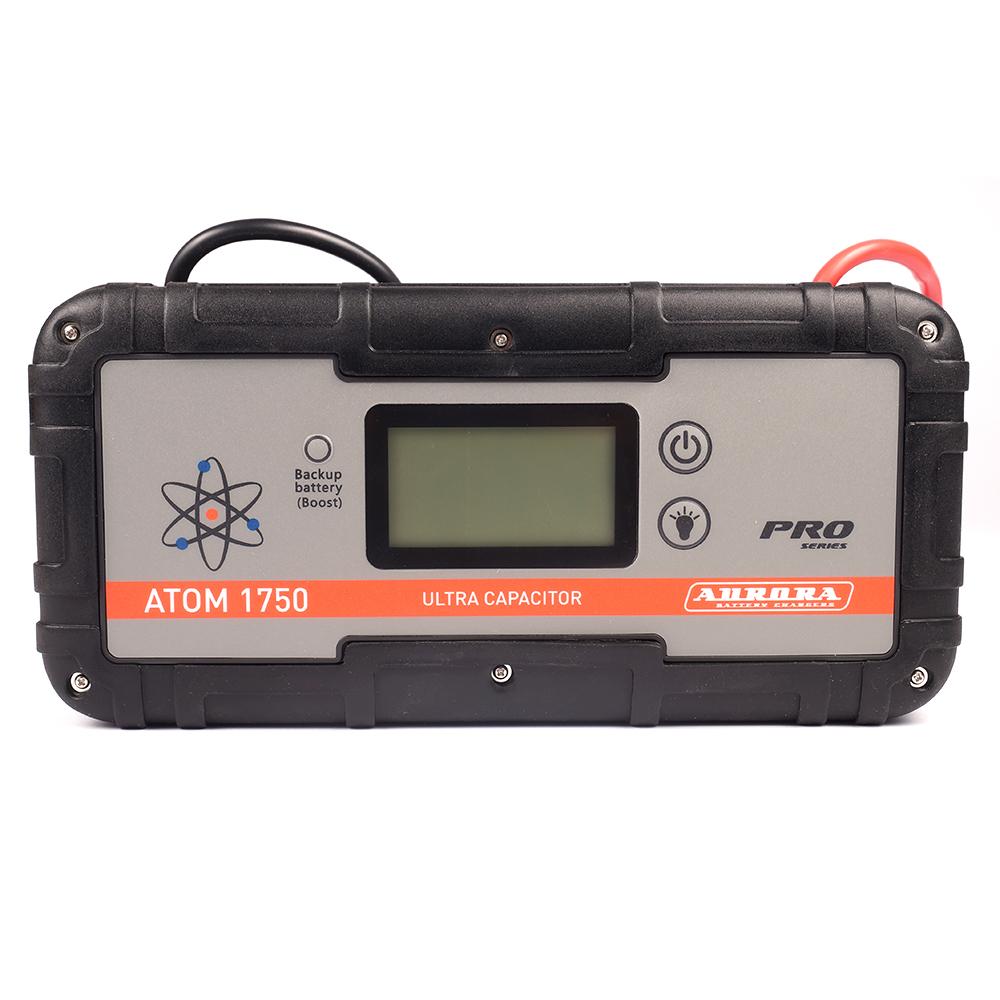 Пусковое устройство конденсаторное AURORA ATOM 1750 ULTRA CAPAСITOR 6000 мА/ч (+ Антисептик-спрей для рук в подарок!)