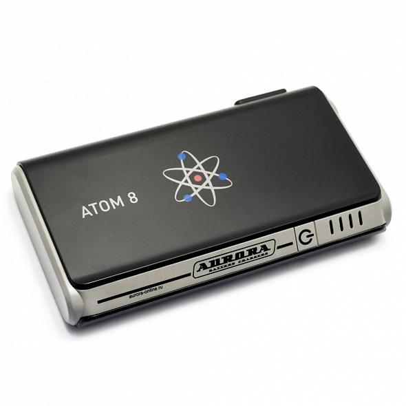 Мобильное пусковое устройство AURORA ATOM 8 8000 мА/ч (+ Антисептик-спрей для рук в подарок!)