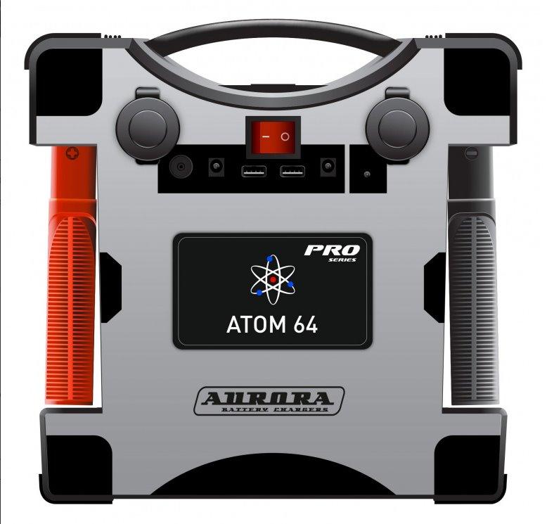 Профессиональное пусковое устройство нового поколения AURORA ATOM 64 (24В) (+ Антисептик-спрей для рук в подарок!)