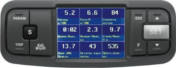 Бортовой компьютер Multitronics TC 740 (+ Антисептик-спрей для рук в подарок!)