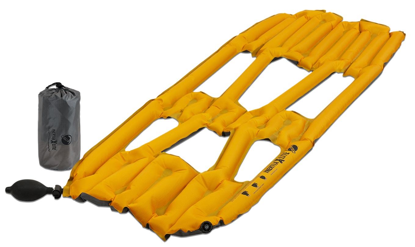 Надувной коврик Klymit Inertia X-Lite pad Orange, оранжевый (06ILOr01A) (+ Антисептик-спрей для рук в подарок!)