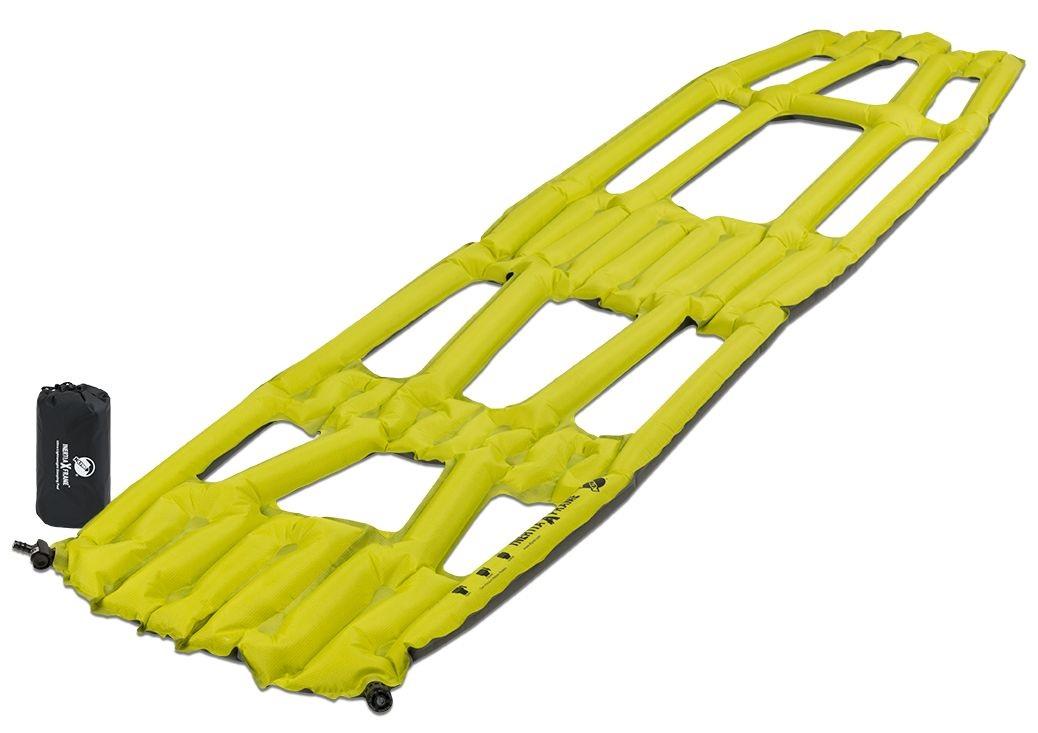 Надувной коврик Klymit Inertia X Frame pad Chartuesse Yellow, желтый (06IXRd01A) (+ Антисептик-спрей для рук в подарок..