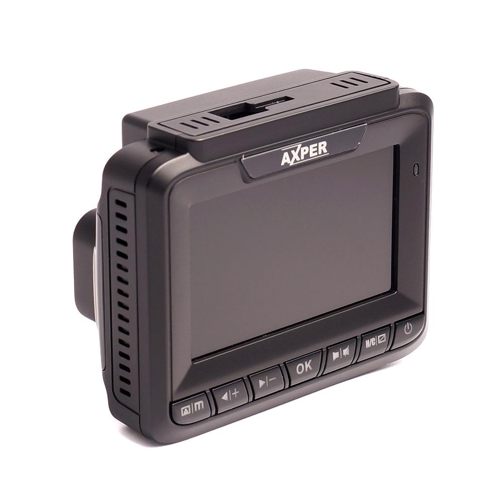 Видеорегистратор с радар-детектором AXPER Combo Patch, GPS, черный (+ Антисептик-спрей для рук в подарок!)