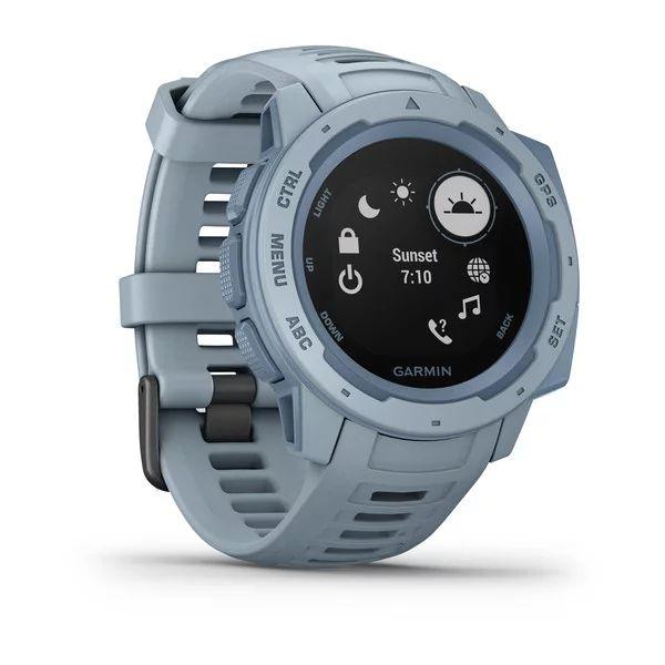 Прочные GPS-часы Garmin Instinct Sea Foam