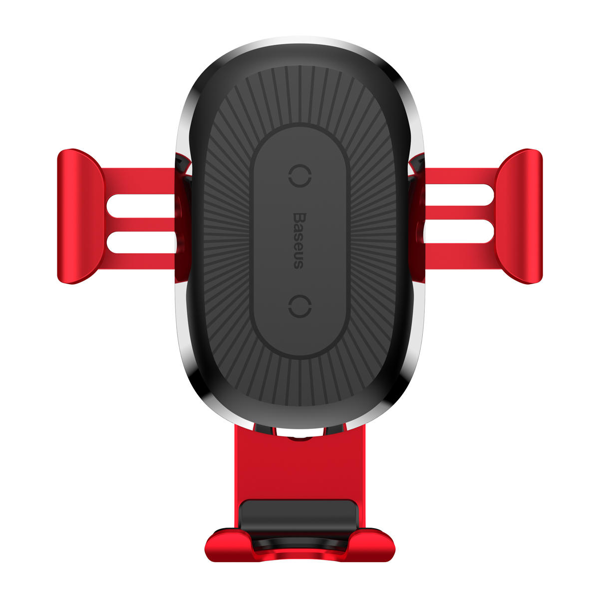 Беспроводное зарядное Baseus Wireless Charger Gravity Car Mount Red