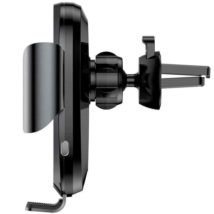 Держатель для смартфона с автоматическим зажимом Baseus Smart Car Mount Cell - Черный (SUGENT-ZN01)