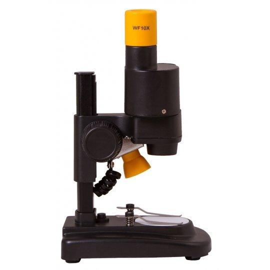 Микроскоп BRESSER National Geographic 20x стереоскопический (+ Книга «Невидимый мир» в подарок!)